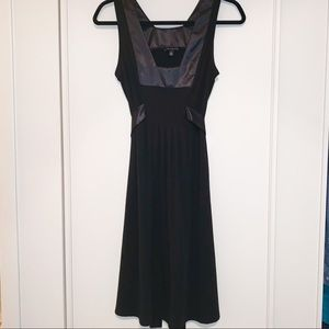 The Limited Black Sleeveless Dress, Small tie